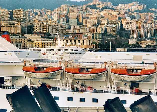 Genua, Ligurien, Italien, September 2002
