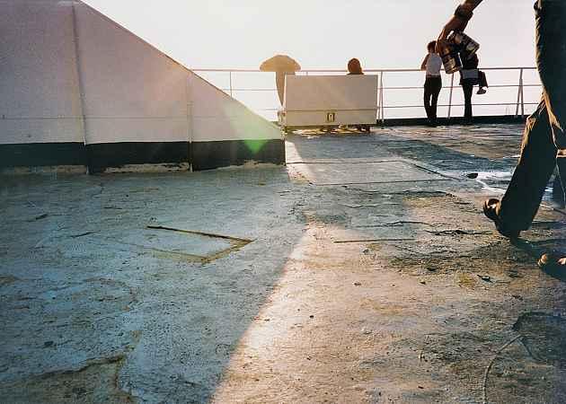 Feierabend, Tyrrhenisches Meer, Italien, September 2003