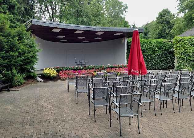 Musikpavillon Willingen, Hessen, Deutschland, Juli 2013