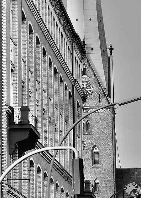 St. Petri, Hamburg-Altstadt, Hamburg, Deutschland, April 1992