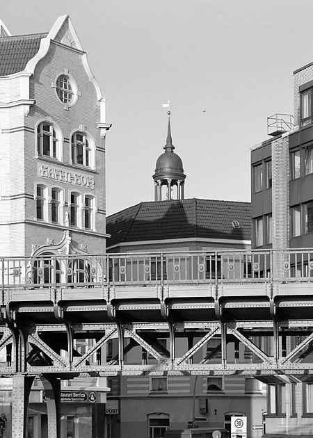 Vorsetzen, Hamburg-Neustadt, Hamburg, Deutschland, Juni 1994