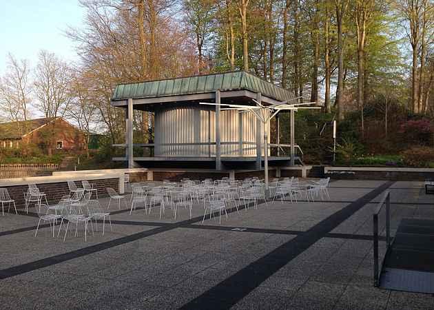 Musikpavillon Malente, Schleswig-Holstein, Deutschland, April 2015
