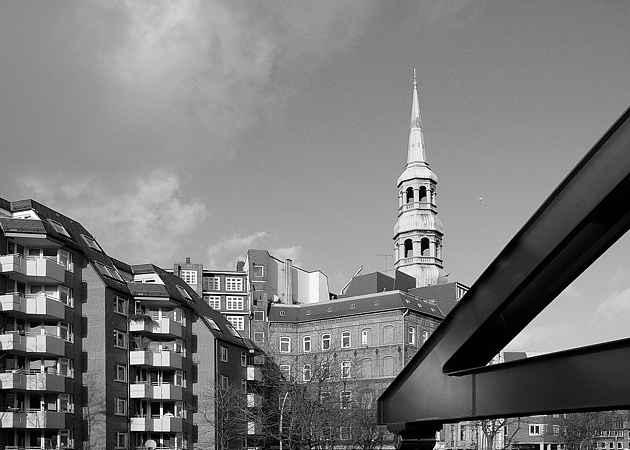 St. Katharinen, Hamburg-Altstadt, Hamburg, Deutschland, Januar 2005
