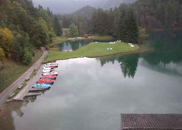 Fernsteinsee, Tirol, Österreich, Oktober 2013