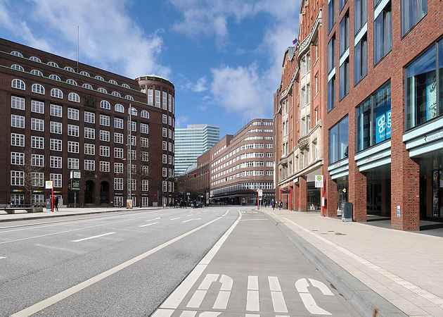 Gänsemarkt, Hamburg-Neustadt, Hamburg, Deutschland, März 2019