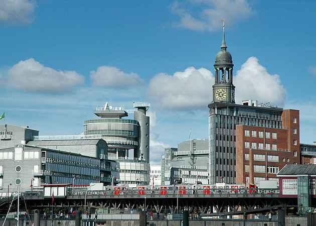 Baumwall, Hamburg-Neustadt, Hamburg, Deutschland, Oktober 2005