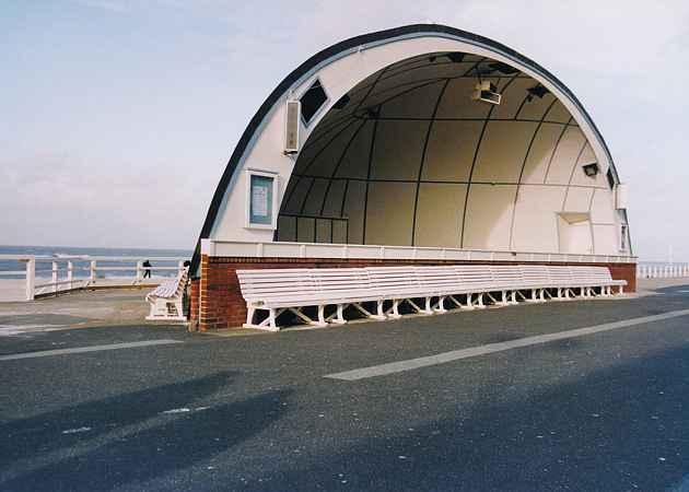 Musikpavillon Westerland, Schleswig-Holstein, Deutschland, November 2000