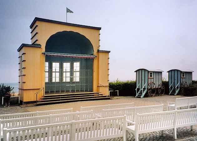 Musikpavillon Bansin, Mecklenburg-Vorpommern, Deutschland, Mai 2004
